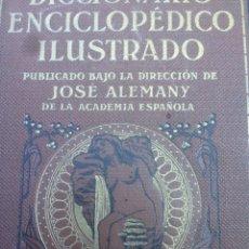 Diccionarios antiguos: DICCIONARIO ENCICLOPÉDICO ILUSTRADO LIMPIDA-FONS JOSE ALEMANY ED RAMON SOPENA. Lote 95356638