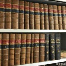 Diccionarios antiguos: DICCIONARIO ENCICLOPÉDICO HISPANO AMERICANO MONTANER Y SIMÓN, 1887. Lote 95450315