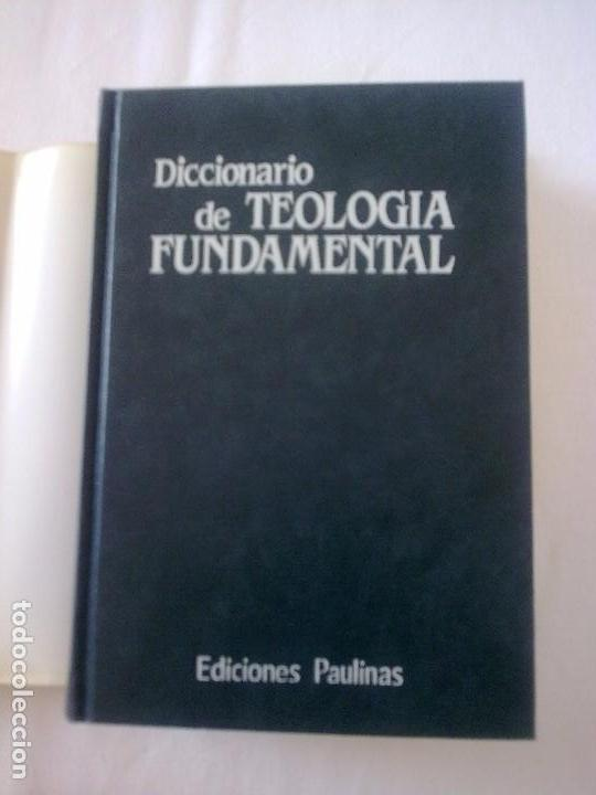 Diccionarios antiguos: Diccionario de Teología Fundamental - Foto 2 - 97771127
