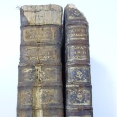 Diccionarios antiguos: AÑO 1759 ESPAÑOL-FRANCES-LATIN Y FRANCES-ESPAÑOL MONSIEUR LE DAUPHIN 2 TOMOS. Lote 98158899