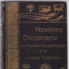 Diccionarios antiguos: NOVISIMO DICCIONARIO LENGUA CASTELLANA - TOMO IV - DE LA OC A LA TU. Lote 98429207