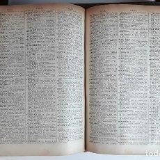 Diccionarios antiguos: DICCIONARIO DE LA LENGUA ESPAÑOLA. JOSÉ ALEMANY. EDITOR RAMÓN SOPENA. 1917.. Lote 98438927