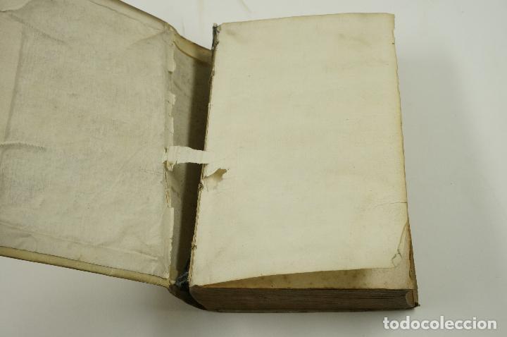 Diccionarios antiguos: VOCABOLARIO ITALIANO - ESPAGNOLO, LORENZO FRANCIOSINI, 1706. 12x18,5 cm - Foto 4 - 99352627
