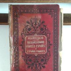 Diccionarios antiguos: NUEVO DICCIONARIO FRANCÉS-ESPAÑOL Y ESPAÑOL-FRANCÉS. LIB. GARNIER HERMANOS. 1886.. Lote 99654959