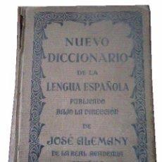 Diccionarios antiguos: NUEVO DICCIONARIO DE LA LENGUA AÑO 1932. Lote 100190663