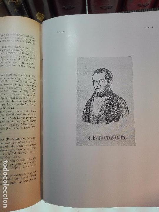 Diccionarios antiguos: MUY INTERESANTE DICCIONARIO BIOGRÁFICO Y BIBLIOGRÁFICO DE CALÍGRAFOS ESPAÑOLES - TOMOS I Y II-1913 - - Foto 9 - 100461723