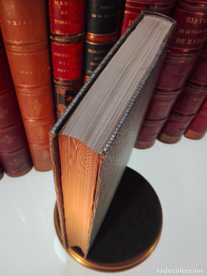 Diccionarios antiguos: MUY INTERESANTE DICCIONARIO BIOGRÁFICO Y BIBLIOGRÁFICO DE CALÍGRAFOS ESPAÑOLES - TOMOS I Y II-1913 - - Foto 11 - 100461723
