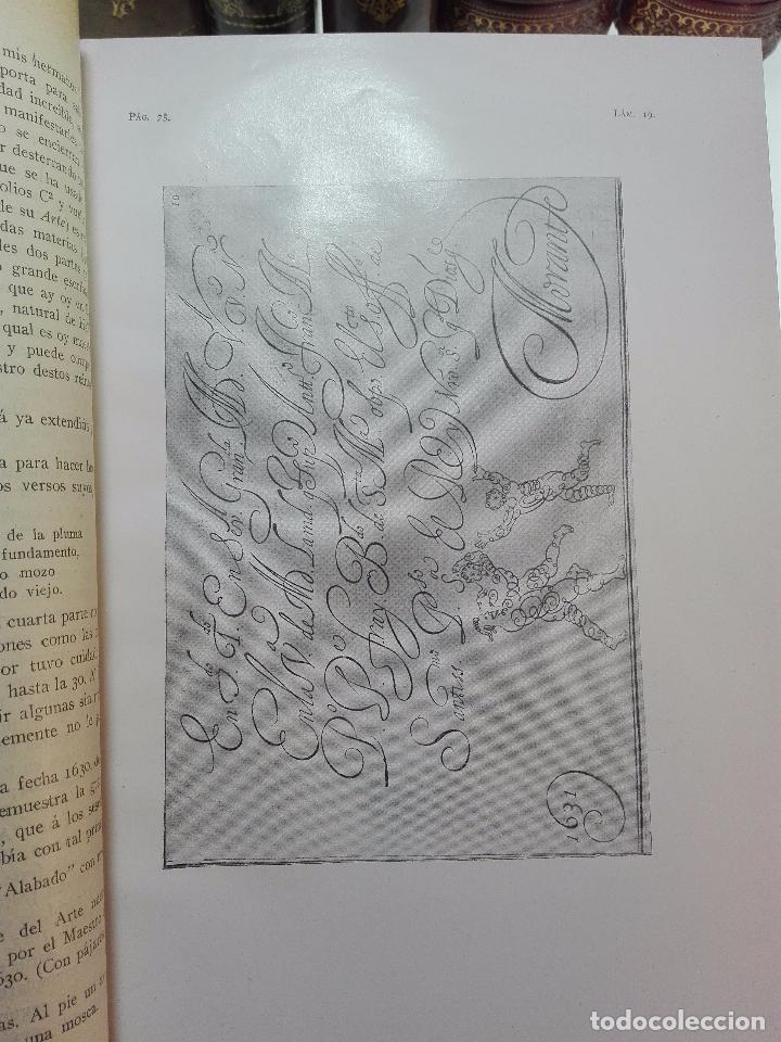 Diccionarios antiguos: MUY INTERESANTE DICCIONARIO BIOGRÁFICO Y BIBLIOGRÁFICO DE CALÍGRAFOS ESPAÑOLES - TOMOS I Y II-1913 - - Foto 15 - 100461723