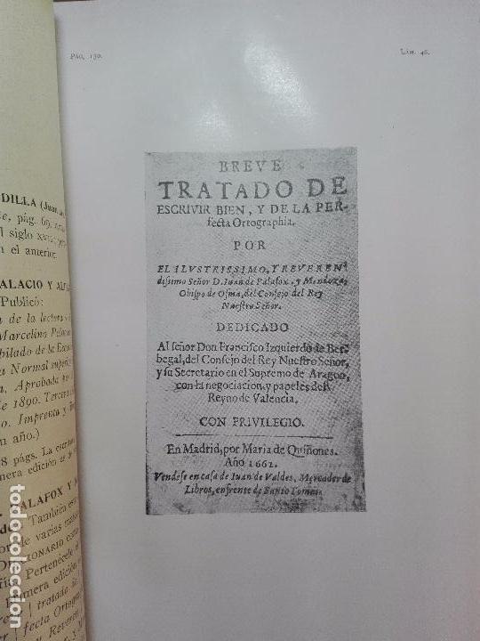 Diccionarios antiguos: MUY INTERESANTE DICCIONARIO BIOGRÁFICO Y BIBLIOGRÁFICO DE CALÍGRAFOS ESPAÑOLES - TOMOS I Y II-1913 - - Foto 17 - 100461723