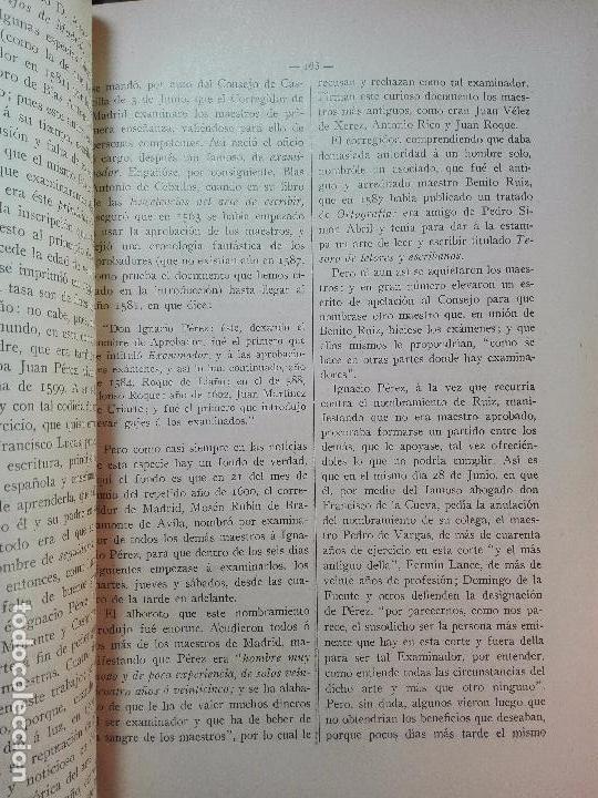 Diccionarios antiguos: MUY INTERESANTE DICCIONARIO BIOGRÁFICO Y BIBLIOGRÁFICO DE CALÍGRAFOS ESPAÑOLES - TOMOS I Y II-1913 - - Foto 18 - 100461723