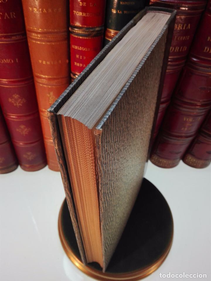 Diccionarios antiguos: MUY INTERESANTE DICCIONARIO BIOGRÁFICO Y BIBLIOGRÁFICO DE CALÍGRAFOS ESPAÑOLES - TOMOS I Y II-1913 - - Foto 20 - 100461723