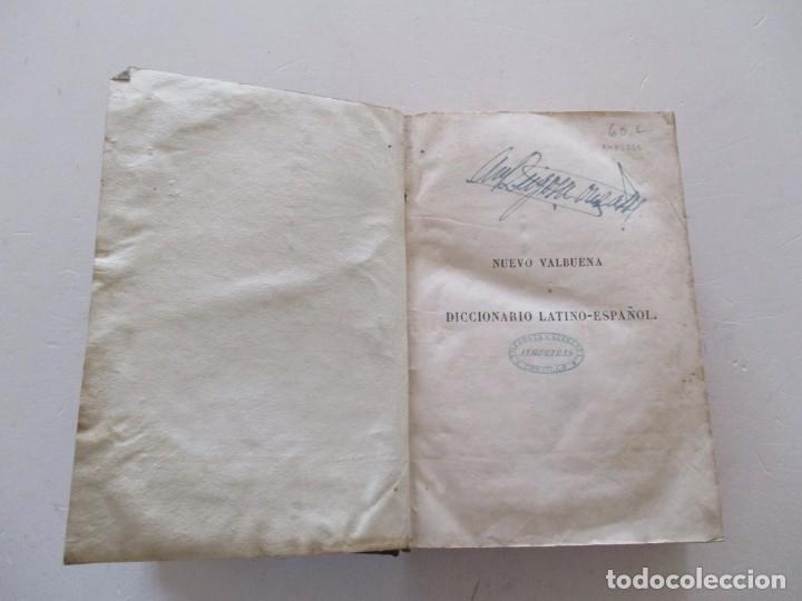 Diccionarios antiguos: DON VICENTE SALVÁ. Nuevo Valbuena. RM83821. - Foto 2 - 101061727