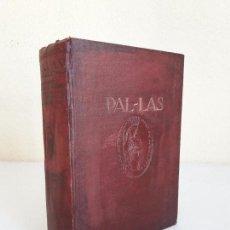 Diccionarios antiguos: PAL-LAS. DICCIONARIO ENCICLOPÉDICO MANUAL EN CINCO IDIOMAS. . Lote 101460515