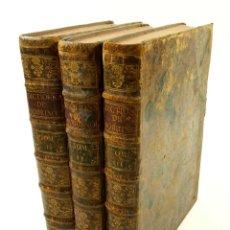 Diccionarios antiguos: NOUVEAU DICTIONNAIRE DE SOBRINO, 1789, FRANÇOIS, ESPAGNOL ET LATIN, 3. VOL, FRANÇOIS CORMON. 21X26CM. Lote 102155419
