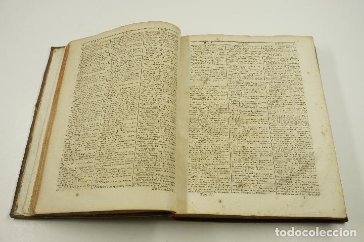 Diccionarios antiguos: Nouveau Dictionnaire de Sobrino, 1789, François, espagnol et latin, 3. vol, François Cormon. 21x26cm - Foto 4 - 102155419