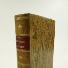Diccionarios antiguos: DICCIONARIO DE GALICISMOS, 1890, RAFAEL MARIA BARALT, MADRID-CARACAS. 15X23CM. Lote 103485499