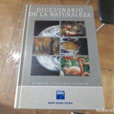 Diccionarios antiguos: DICCIONARIO DE LA NATURALEZA . Lote 104127679