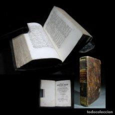 Diccionarios antiguos: AÑO 1848 PARIS LIBRO CON 170 AÑOS DE ANTIGÜEDAD DICCIONARIO PORTATIL ESPAÑOL FRANCÉS. Lote 104179827