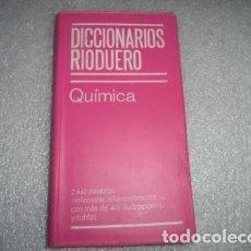 Diccionarios antiguos: DICCIONARIO RIODUERO. Lote 104378675
