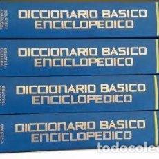 Diccionarios antiguos: DICCIONARIO BÁSICO ENCICLOPÉDICO. Lote 104540159