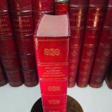 Diccionarios antiguos: DICCIONARIO DE BIBLIOGRAFÍA AGRONÓMICA Y DE TODA CLASE DE ESCRITOS RELACIONADOS CON LA AGRICULTURA -. Lote 104595339