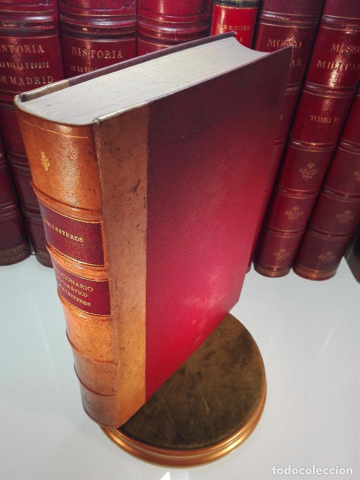 DICCIONARIO BIOGRÁFICO MATRITENSE - LUIS BALLESTEROS ROBLES - EDIT. EXCMO. AYUNTAMIENTO - 1912 - (Libros Antiguos, Raros y Curiosos - Diccionarios)