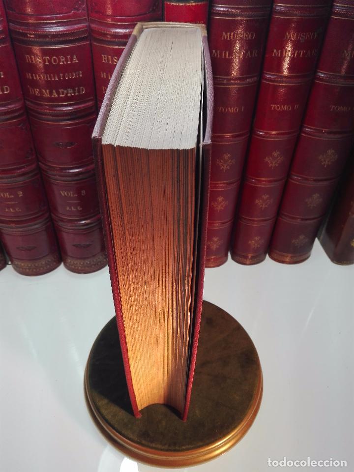 Diccionarios antiguos: DICCIONARIO BIOGRÁFICO MATRITENSE - LUIS BALLESTEROS ROBLES - EDIT. EXCMO. AYUNTAMIENTO - 1912 - - Foto 8 - 104883427