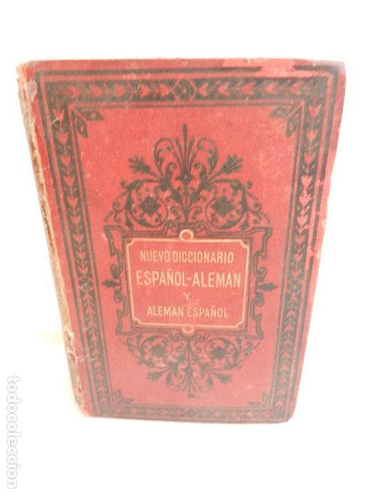DICCIONARIO ESPAÑOL-ALEMÁN Y ALEMÁN-ESPAÑOL PARIS LIB. GARNIER HERMANOS AÑO 1885. (Libros Antiguos, Raros y Curiosos - Diccionarios)