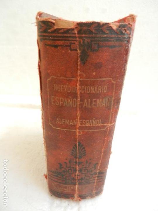 Diccionarios antiguos: DICCIONARIO ESPAÑOL-ALEMÁN Y ALEMÁN-ESPAÑOL PARIS LIB. GARNIER HERMANOS AÑO 1885. - Foto 2 - 136075874