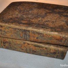 Diccionarios antiguos: 2 DICCIONARIOS ESPAÑOL-LATINO + LATINO-ESPAÑOL - MANUEL DE VALBUENA 1866 - 1865 ADIM. Lote 107242439