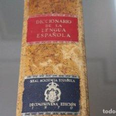 Diccionarios antiguos: DICCIONARIO DE LA LENGUA ESPAÑOLA, DECIMONOVENA EDICIÓN 1970. Lote 108279203