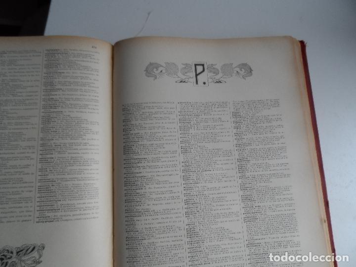 Diccionarios antiguos: GRAN DICCIONARIO FRANCES ESPAÑOL, ENCICLOPEDIA ILUSTRADA SEGUI. BARCELONA 1905 - SUPLEMENTO - Foto 2 - 108918015