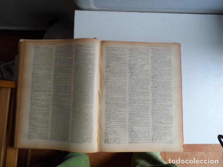 Diccionarios antiguos: GRAN DICCIONARIO FRANCES ESPAÑOL, ENCICLOPEDIA ILUSTRADA SEGUI. BARCELONA 1905 - SUPLEMENTO - Foto 3 - 108918015