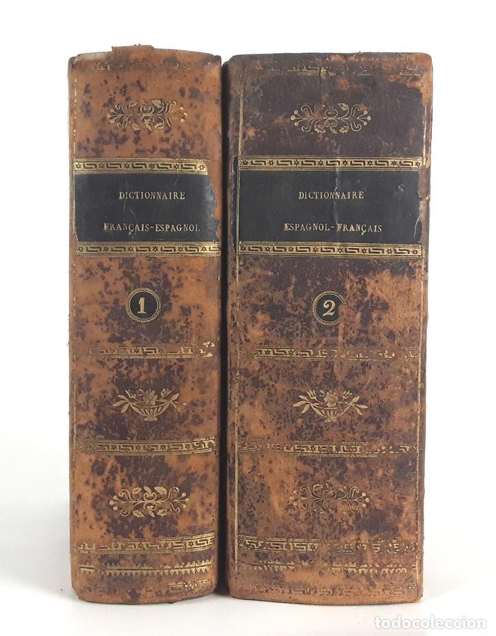 DICCIONARIO ESPAÑOL-FRANCÉS. 2 TOMOS. 1820. M.NUÑEZ DE TABOADA. (Libros Antiguos, Raros y Curiosos - Diccionarios)