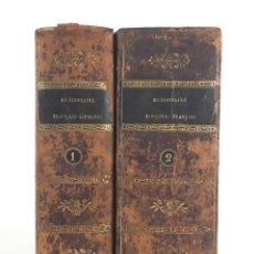 Diccionarios antiguos: DICCIONARIO ESPAÑOL-FRANCÉS. 2 TOMOS. 1820. M.NUÑEZ DE TABOADA.. Lote 222722675