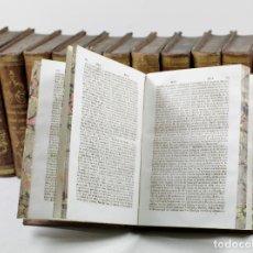 Diccionarios antiguos: DICCIONARIO HISTÓRICO O BIOGRAFIA UNIVERSAL COMPENDIADA, 1830, 12 TOMOS, BARCELONA.. Lote 110631751
