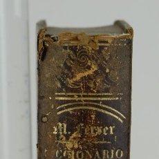 Diccionarios antiguos: DICCIONARIO CATALÁN-CASTELLANO,UNA COLECCIÓN DE 1670 REFRANES-FRAY MARGIN FERRER-ED.PABLO RIERA 1854. Lote 110918119