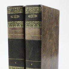 Diccionarios antiguos: DICCIONARI CATALÀ, CASTELLÀ, LLATÍ, FRANCÈS, ITALIÀ, 2 TOMOS, 1839, BARCELONA. 17,5X25CM. Lote 110955839