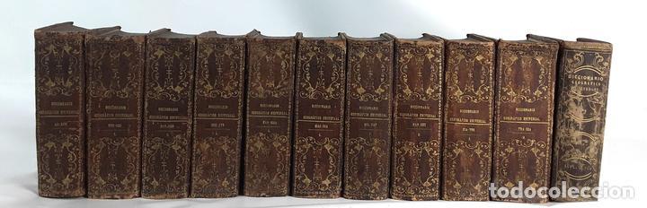 DICCIONARIO GEOGRÁFICO UNIVERSAL. X TOMOS MAS SUPLEMENTO. 1830-1846 (Libros Antiguos, Raros y Curiosos - Diccionarios)