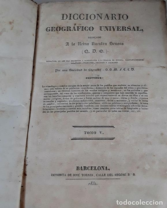 Diccionarios antiguos: DICCIONARIO GEOGRÁFICO UNIVERSAL. X TOMOS MAS SUPLEMENTO. 1830-1846 - Foto 9 - 110972971