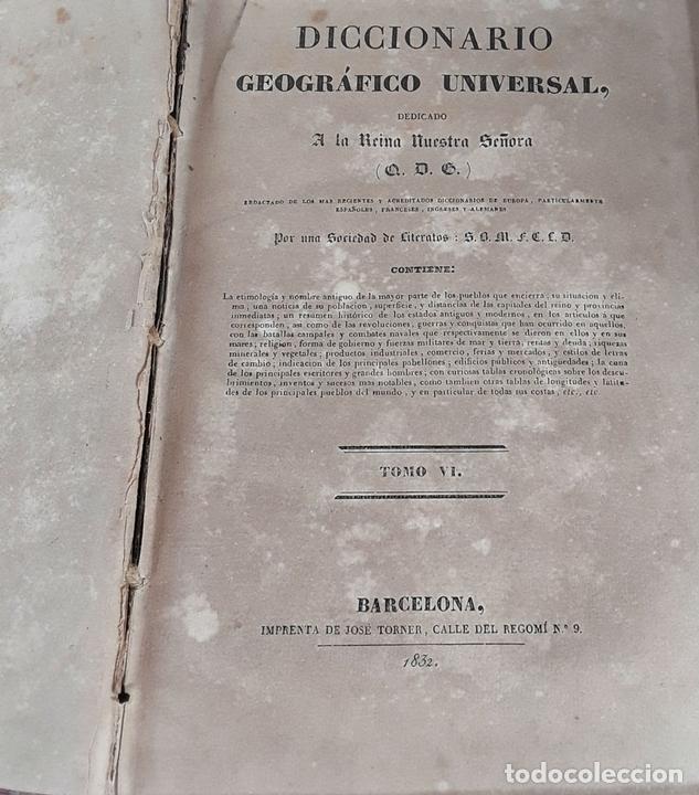 Diccionarios antiguos: DICCIONARIO GEOGRÁFICO UNIVERSAL. X TOMOS MAS SUPLEMENTO. 1830-1846 - Foto 10 - 110972971
