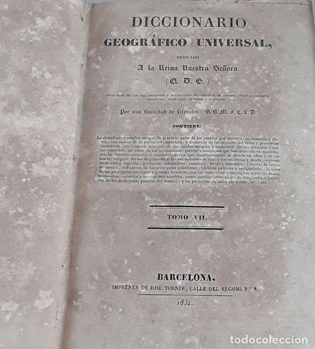 Diccionarios antiguos: DICCIONARIO GEOGRÁFICO UNIVERSAL. X TOMOS MAS SUPLEMENTO. 1830-1846 - Foto 11 - 110972971