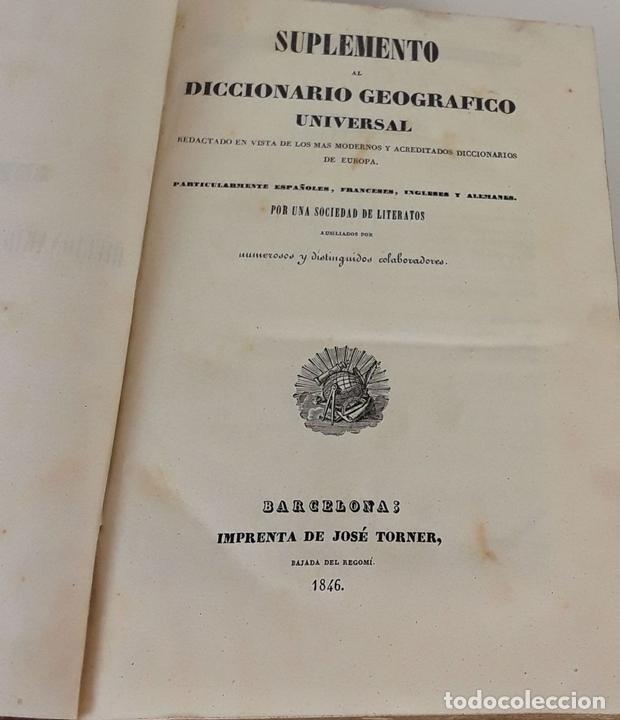 Diccionarios antiguos: DICCIONARIO GEOGRÁFICO UNIVERSAL. X TOMOS MAS SUPLEMENTO. 1830-1846 - Foto 15 - 110972971