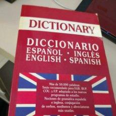 Diccionarios antiguos: LONDON DICTIONARY / ESPAÑOL-INGLÉS - ENGLISH - SPANISH. Lote 117570955