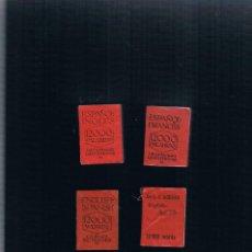 Diccionarios antiguos: LOTE DE 4 DICCIONARIOS LILIPUTIENSE ESPAÑOL INGLES Nº 24, ESPAÑOL FRANCES Nº 26, INGLES ESPAÑOL 2. Lote 118054991