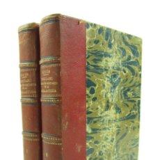 Diccionarios antiguos: DICCIONARIO GEOGRÁFICO-HISTÓRICO DE LA ESPAÑA ANTIGUA, 1835, 2 VOL, M. CORTÉS, MADRID. 16X21,5CM. Lote 118241583