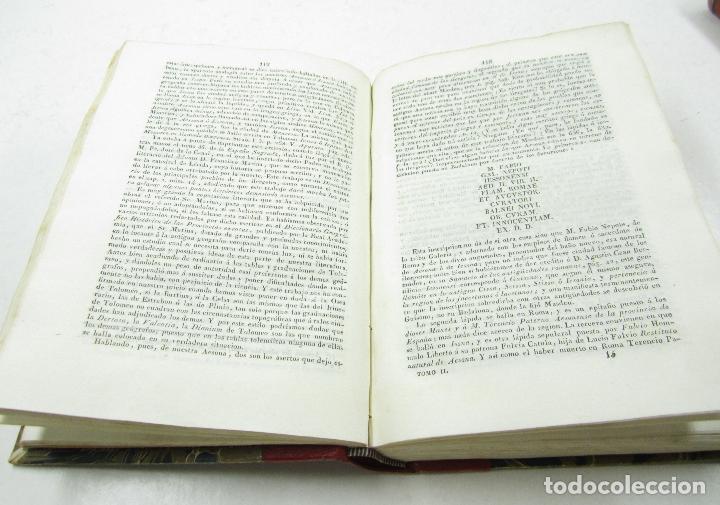 Diccionarios antiguos: Diccionario geográfico-histórico de la España antigua, 1835, 2 vol, M. Cortés, Madrid. 16x21,5cm - Foto 6 - 118241583