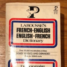 Diccionarios antiguos: FRENCH-ENGLISH/ENGLISH-FRENCH(16€). Lote 118724751