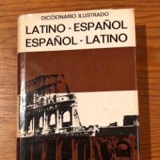 Livres anciens: LATINO-ESPAÑO//ESPAÑOL-LATINO ILUSTRADO(16€). Lote 118725287