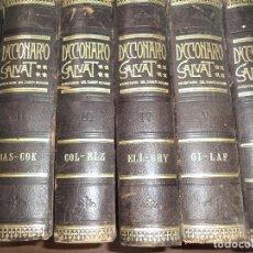 Diccionarios antiguos: DICCIONARIO SALVAT ENCICLOPEDICO POPULAR ILUSTRADO.INVENTARIO DEL SABER HUMANO. 9 TOMOS 2 APENDICES.. Lote 119625999